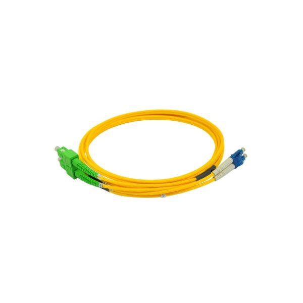 Fiber Optic Patchcord LC_APC-LC_UPC DUPLEX